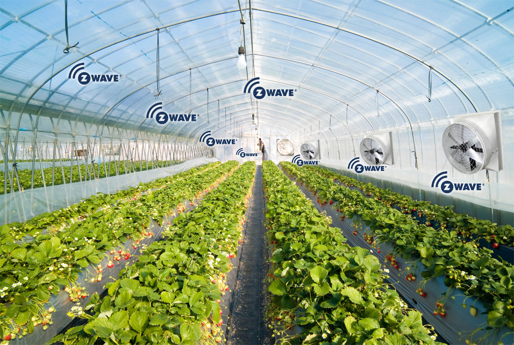 Z-wave agriculture